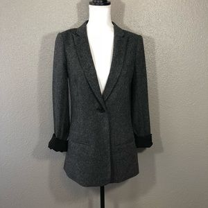 7 for All Mankind textured blazer